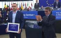 Сенцов получил премию Сахарова в Европарламенте