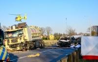 Жуткое ДТП в Нидерландах: пятеро погибших и пятеро раненых