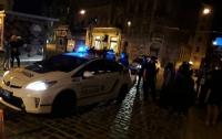 Львовские копы сбили на пешеходном переходе женщину