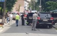 Взрыв автомобиля в Киеве: появились подробности (видео)