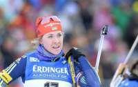 Украинская биатлонистка завоевала