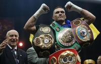 Усика назвали в Британии лучшим иностранным боксером