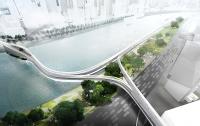 Ехать над землей: BMW предлагает эко-дороги в воздухе