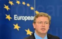 ЕС откладывает работу с украинскими властями по СА - Фюле