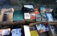 Запрещенные книги российского производства пытались ввезти в Украину