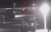 Легендарный призрак попал в выпуск новостей в США (видео)