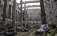 В Николаеве нашли кладбище автомобилей BMW