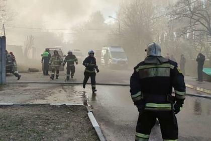 В Москве на пожаре погибли люди