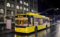 Стало известно, как будет работать транспорт в Киеве на Новый год