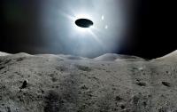 Появилось видео загадочного НЛО, пролетающего мимо Луны
