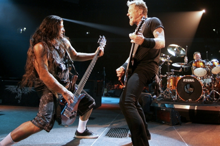 an introduction to the band metallica Ulrich named his band metallica the band unveiled a new website with an introduction from ulrich containing footage from the studio of the band working on.