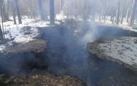 Во Львовской области дотла сгорел музей-крыивка УПА