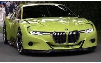 Новый прототип автомобиля BMW 3.0 CSL посвятили ретрокару (ВИДЕО)