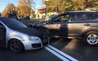В Киеве работник посольства Ливии устроил ДТП и нагрубил АТОшнику