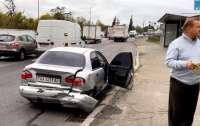 Полицейские спешили на оформление ДТП и протаранили авто (фото)