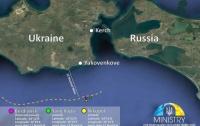 Российские военные припрятали и замаскировали украинские катера