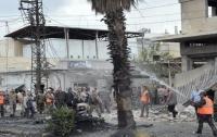 В сирийском Хомсе взорвали микроавтобус
