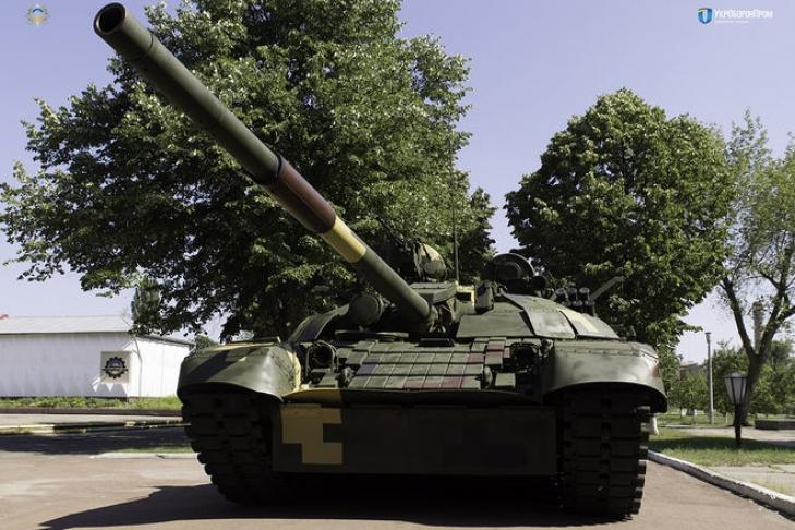 «Укроборонпром» показал танк, модернизированный поопыту АТО