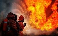 В Киеве горело кафе