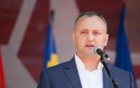 Додон сделал заявление о роли Украины в решении вопроса Приднестровья