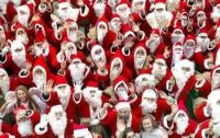 В США провели оригинальные забеги Санта Клаусов