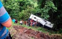 На западе Мексики автобус упал в овраг: погибли восемь человек