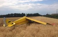 Под Полтавой разбился самолет, погиб пилот