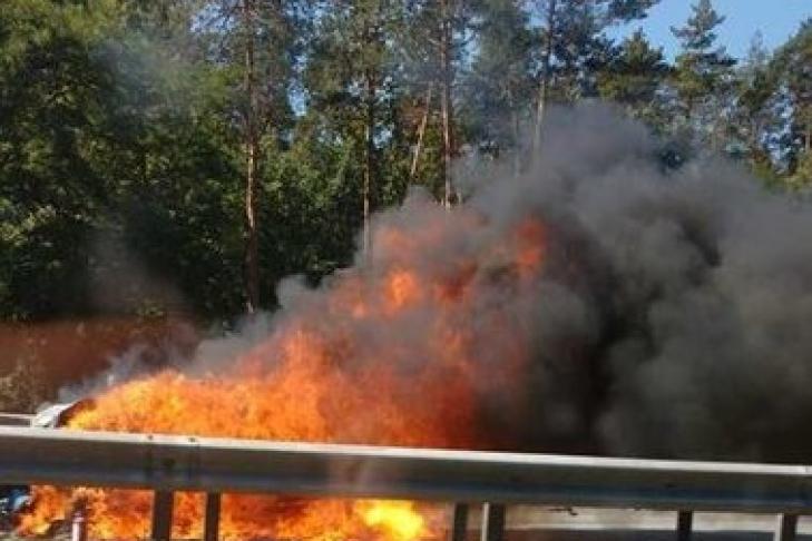 Масштабное ДТП наБориспольском шоссе: пассажиров «Борисполя» просят выезжать заблаговременно
