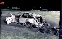 Прямо на футбольном поле сожгли
