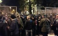 Ночью произошли новые столкновения правоохранителей с митингующими под Радой
