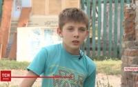 В Черкасской обл. 13-летний мальчик спас двух друзей из-под завала