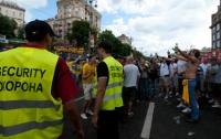 В киевской фан-зоне шведы устроили потасовку с англичанами