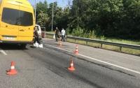 Движение на Житомирской трассе парализовали аварии