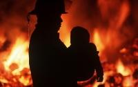 Под Киевом в пожаре погибли дети