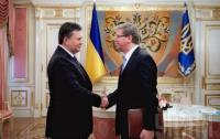 Янукович с Фюле обсудили возможность инклюзивного диалога