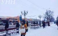 На Киевщине водители маршруток устроили забастовку
