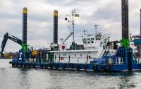 В Украине создано сверхмощное дноуглубительное судно