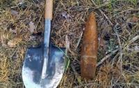 Сельские жители искали металл, а нашли артснаряды