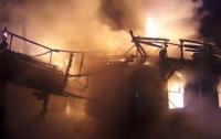 ГСЧС: В Ровно вспыхнул пожар в ресторане