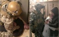 В Днепре спецназ штурмовал квартиру, в которой силой удерживали ребенка (видео)