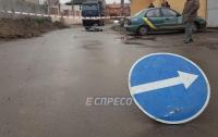В Киеве водитель насмерть сбил пенсионерку и скрылся