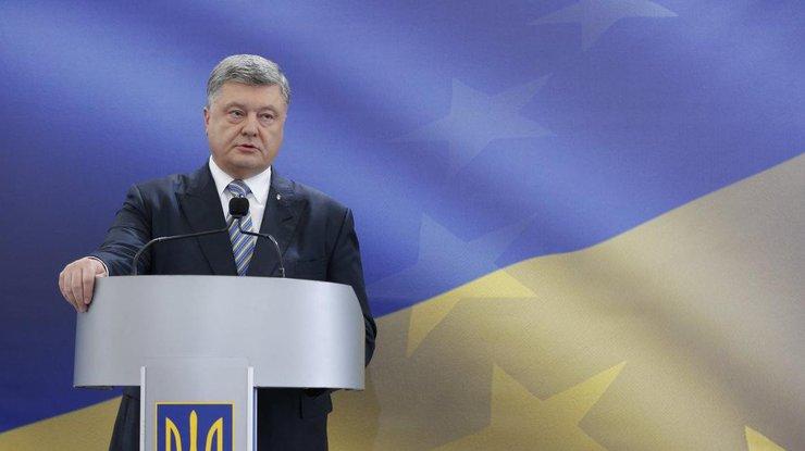 Порошенко озвучил условие для проведения выборов на Донбассе