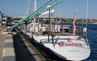 Украинское сало, вино и сувениры к Южному полюсу из Севастополя повезет российская яхта «Скорпиус»