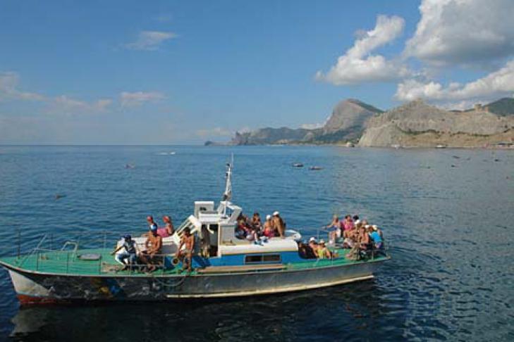 выход в море на лодке в новороссийске
