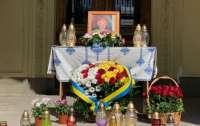 В одном из храмов Львова попрощались с Вакарчуком