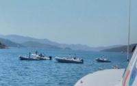 На популярном курорте в Турции утонула яхта с туристами