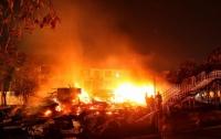 Пожар в одесском лагере: воспитатели не досчитались трех девочек