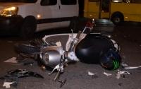 За день до ВНО: в Киеве школьник попал в аварию (видео)