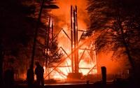 В Германии дотла сгорела известная башня Гете
