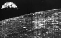 Опубликован первый снимок Земли с Луны